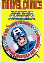 Captain America ORIGINAL Vintage 1987 Mini Comic Book  - $9.49