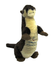 "OTTO the Otter Wishpets 2002 #83020 13"" tall Homosassa State Park Stuffe... - $13.71"