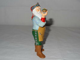 1999 Hallmark Ornaments Toymakers Gift Series Santa Keepsake Collectors Club image 4