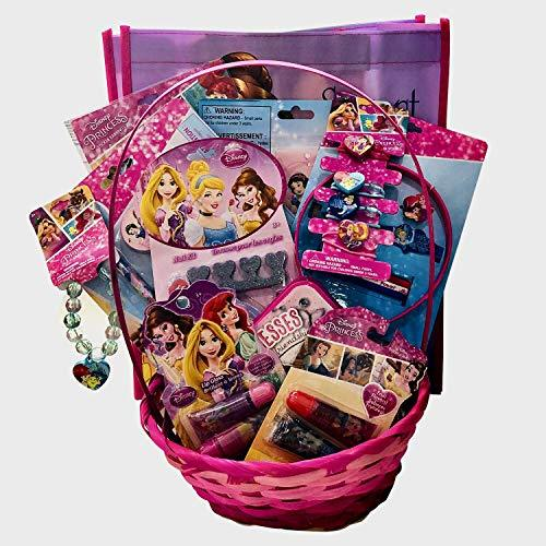 Disney Princess Baby/Toddler Girls Complete Easter Toys Gift Basket (20 Pieces)