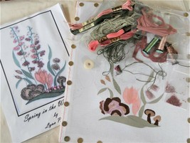 Silk Ribbon Embroidery Kit Lynn Payette Spring in the Woodland - $88.99