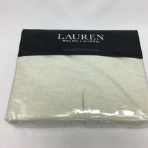 Lauren Ralph Lauren Pillow Sham Beige European Graydon Quilted 100% Cott... - $78.99