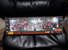 okMAISTO, HARLEY-DAVIDSON MOTORCYCLE COLLECTOR ED., SERIES 1 - 1:18 - 19... - $40.50