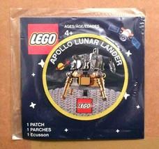 Lego Apollo 11 Lunar Lander NASA Space Patch 5005907 (Limited Edition) NEW - $12.99