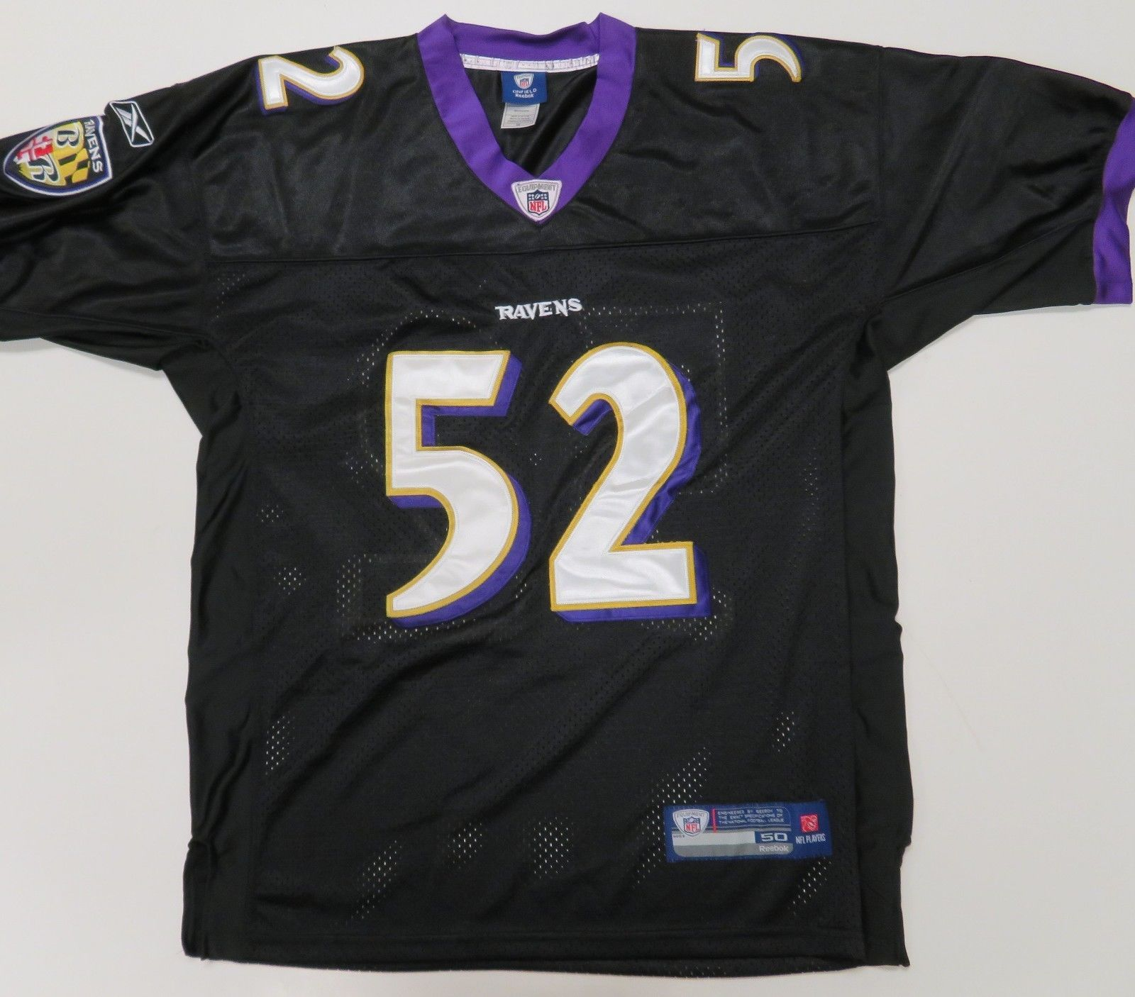 Reebok Baltimore Ravens  52 Ray Lewis Jersey and 50 similar items 1ba3708b9