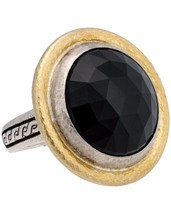 ¦Authentic GURHAN Silver Yellow Gold Galapagos Onyx Dome Ring Size 7 »$ ... - £891.43 GBP