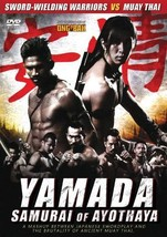 Nopporn Watin's Yamada The Samurai of Ayothaya DVD - muay thai English s... - $22.00