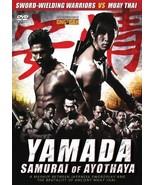 Nopporn Watin's Yamada The Samurai of Ayothaya DVD - muay thai English s... - $22.00