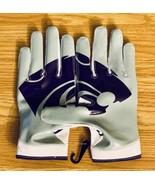 NEW Nike Vapor Knit Kansas State Wildcats Football Gloves PGF432-118 Siz... - $69.29