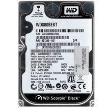 WD800BEKT Western Digital Scorpio 80gb 7200rpm Sata-300 2.5inch Hard
