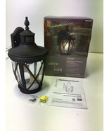 Allen And Roth Dark Oil-rubbed Bronze motion activated Wall Lantern - $73.00