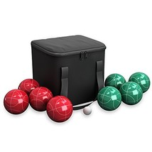 Bocce Ball Set- Outdoor Family Bocce Game for Backyard, Lawn, Beach & Mo... - $41.25