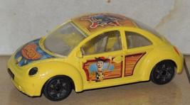 Burago VW New Beetle BUG Toy Story Woody Pixar Disney Collection 1:43 Italy - $23.38