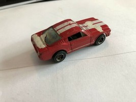 MATCHBOX MUSTANG COLLECTION SERIES RED 1965 FORD MUSTANG GT 2+2 WITH BOX... - $7.43