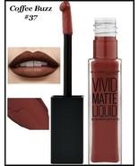 2 X Maybelline Color Sensational Vivid Matte Liquid Lipstick    COFFEE B... - $11.75