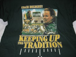 Vintage 1990's Nfl Green Bay PACKERS-7UP Coach Mike Holmgren T-Shirt-Football!! - $19.50