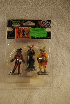 Rare Lemax Spooky Town Evil Sinister Clown Set Of 3 #12885 Retired Halloween - $19.99