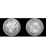 1909-P Barber Dime Silver - $24.99