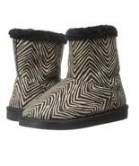 NEW Vera Bradley Cozy Booties in Zebra Print Print  Size 7-8 - $29.69