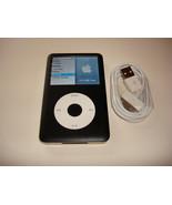 APPLE  IPOD  CLASSIC  6TH GEN.  CUStOM  BLACK  80GB...NEW  BATTERY... - $118.79