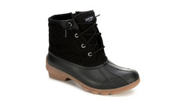 Sperry Top-Sider Women's Syren Gulf Wool Quilted Boot - Black Size 7 - $128.69
