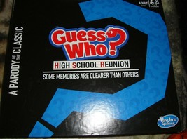 Guess Who? High School Reunion Parody Game Adult Party Game by Hasbro-Un... - $19.00