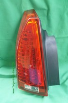 08-13 Cadillac CTS 4 door Sedan LED Rear Tail Light Lamp Driver Left Side - LH image 2