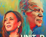 JOE BIDEN KAMALA HARRIS POSTER 24 X 36 INCH DEMOCRAT POLITICAL SIGN