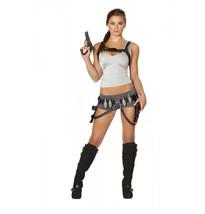Roma 5pc Treasure Huntress Laura Croft Tomb Raider Costume 4492 - $64.99