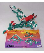 Knex Stegosaurus Kit with Power Pack Motor and instructions Pre-made Pte... - $35.99