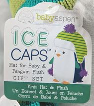 Baby Aspen BA11039NA Ice Caps Hat For Baby And Penguin Plush Gift Set image 7