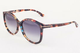 Tom Ford ALICIA Havana / Purple Gradient Sunglasses TF275 55W 59mm - $155.82