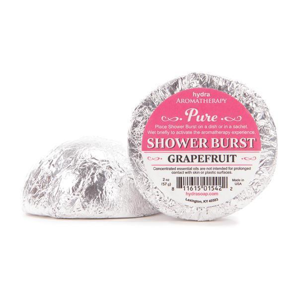 Shower Burst, Grapefruit, by HydraAromatherapy