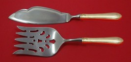 Lady Diana by Towle Sterling Silver Fish Serving Set 2 Piece Custom Made - $127.40
