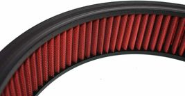"""HIGH FLOW WASHABLE & REUSABLE ROUND AIR FILTER ELEMENT REPLACEMENT 14"""" X 3"""" RED image 7"""