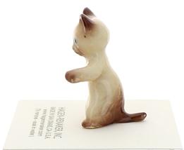 Hagen-Renaker Miniature Cat Figurine Siamese Kitten Sitting Chocolate Point image 4