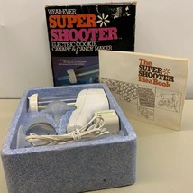 Wear Ever Super Shooter Electric Cookie Maker 70001 Cleaned Working Comp... - $29.69