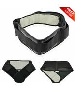 Posture Corrector Back Support Brace Belt Adjustable Waist Self Heating Unisex - $10.99