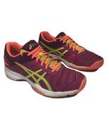 Asics Gel-Solution Slam 3 Women's Size 8 Dark Pink Tennis Training Shoes... - $37.39