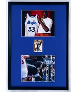 Shaquille O'Neal Signed Framed 18x24 Photo Display Orlando Magic - $178.19