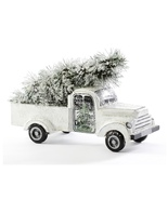 Pine Wood Truck With Tree Decor  - $45.99