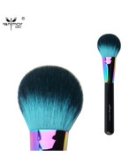 Anmor® Colorful Blush Brush Synthetic Hair Professional Makeup with Fluf... - $8.21