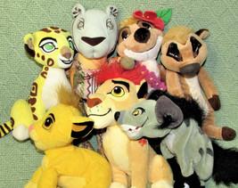 LION KING Plush Lot Disney Bean Bag HYENA BANZAI Simba TIMON Guard FULI ... - $49.50