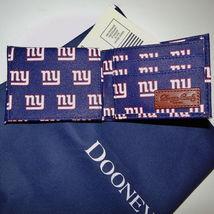 Dooney & Bourke NFL New York Giants Billfold Wallet Navy image 4