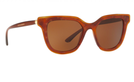 DOLCE & GABBANA Sunglasses Honey Havana Gold Brown DG4362 3212/73 NEW 51mm - $141.57