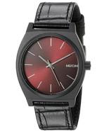 NWT Nixon Men's A0451886 Time Teller Black Gator Watch - $98.95