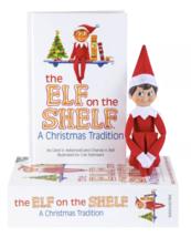 El Elfo On The Estante a Christmas Tradition Azul Ojo Boy Por Chanda Bell Y Caro image 3