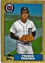 1987 Topps Baseball Card, #726, Frank Tanana, Detroit Tigers - $0.99