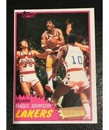 1981-82 Topps  # 21 Magic Johnson Basketball Card - $5.89
