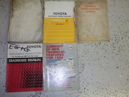 1984 Toyota Corolla FF Service Repair Shop Manual Set FACTORY OEM - $56.38